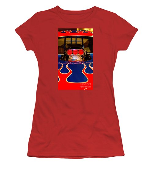 Hot Rod 1 Women's T-Shirt (Athletic Fit)