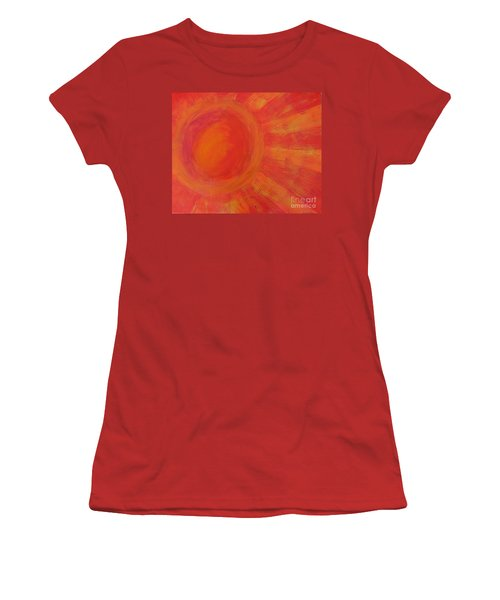 Joy In The Morning Women's T-Shirt (Athletic Fit)