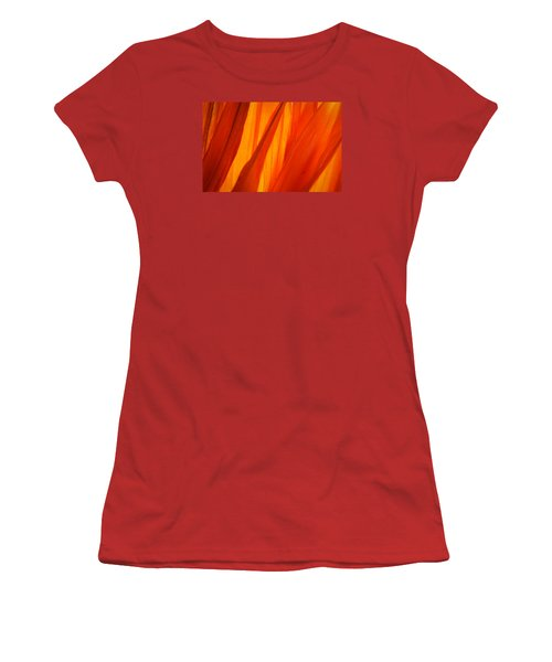 Orange Sunshine Women's T-Shirt (Athletic Fit)