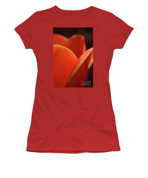 Women's T-Shirt (Junior Cut) featuring the photograph Red Tulip by Jeannette Hunt