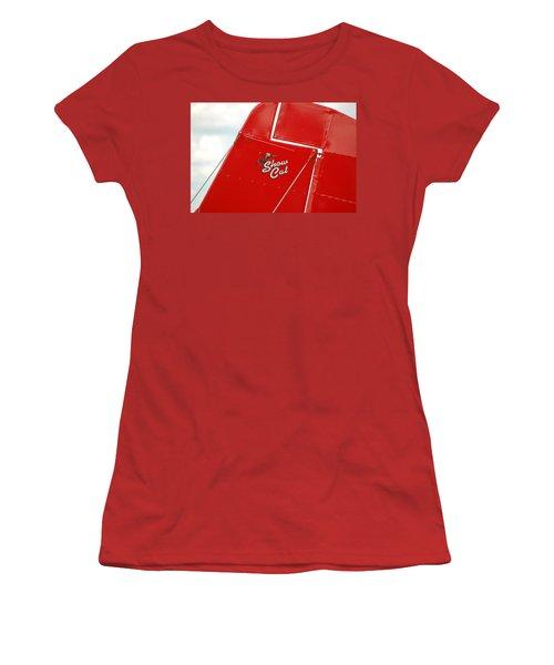 Show Cat Women's T-Shirt (Junior Cut) by Randy J Heath
