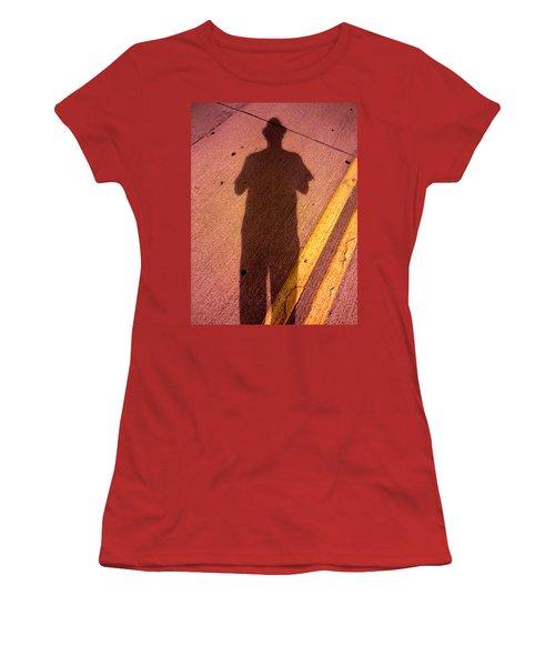 Street Shadows 001 Women's T-Shirt (Junior Cut) by Lon Casler Bixby