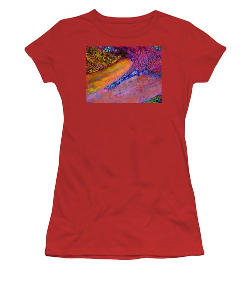 Women's T-Shirt (Junior Cut) featuring the digital art Waking Up by Richard Laeton