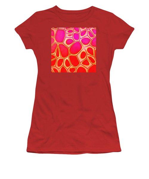Cells Abstract Three Women's T-Shirt (Junior Cut) by Edward Fielding