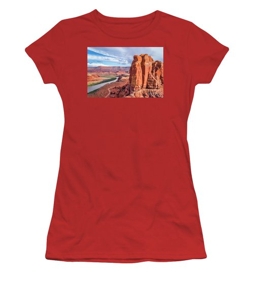Colorado River And Chicken Corner Trail  Women's T-Shirt (Athletic Fit)