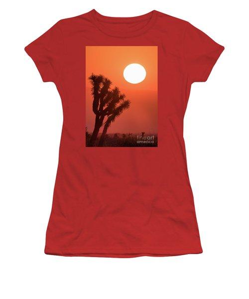 Desert Sunrise Women's T-Shirt (Athletic Fit)