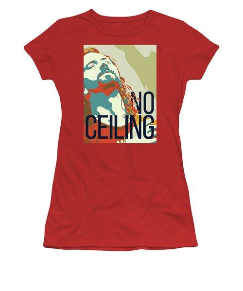 Eddie Vedder Women's T-Shirt (Junior Cut) by Greatom London