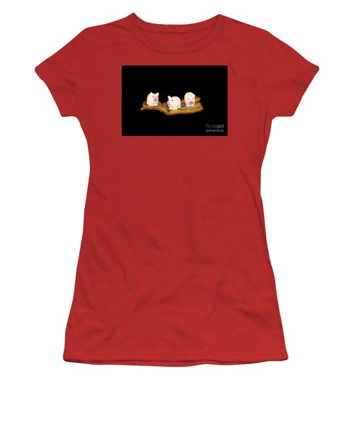 Ironic Pigs Women's T-Shirt (Athletic Fit)