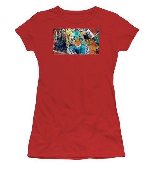 Leopard  Women's T-Shirt (Athletic Fit)