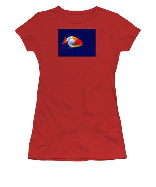 Lion Head Goldfish 4 Women's T-Shirt (Athletic Fit)