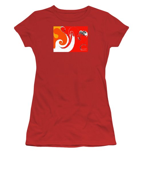 Liquid Wonders Women's T-Shirt (Junior Cut) by Fei A