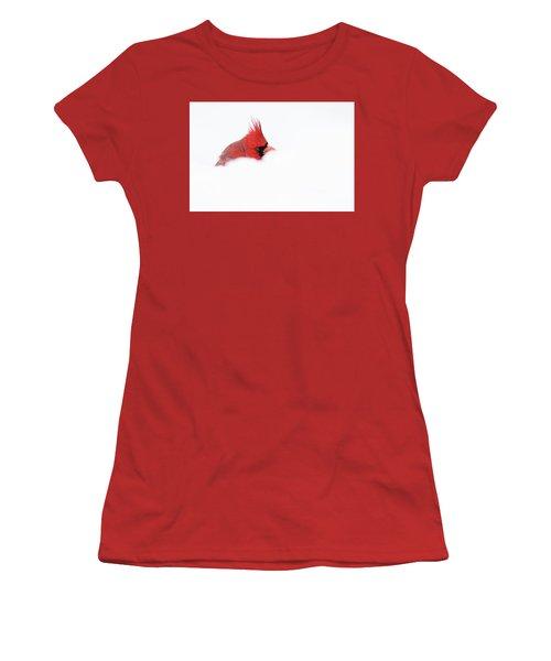 Women's T-Shirt (Junior Cut) featuring the photograph Peekaboo by Mircea Costina Photography