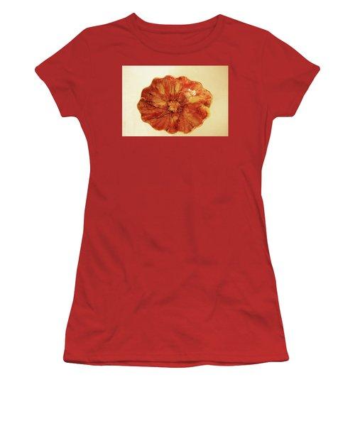 Poppy Women's T-Shirt (Junior Cut) by Itzhak Richter