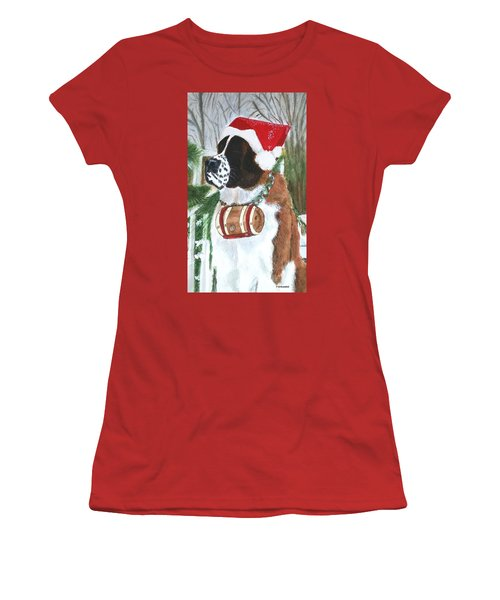 Sonoma To The Rescue Women's T-Shirt (Junior Cut) by Vickie G Buccini