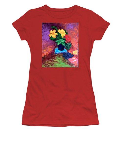 Warm Combination Women's T-Shirt (Athletic Fit)
