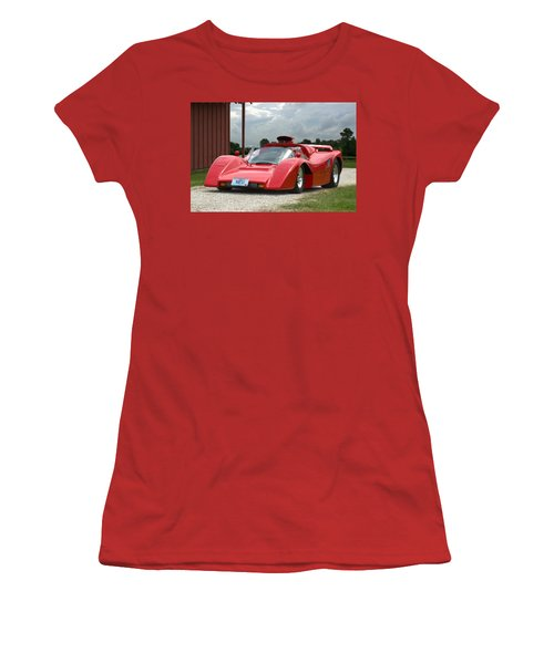 1974 Manta Mirage With Buick 215 Cubic Inch V8 Women's T-Shirt (Junior Cut) by Tim McCullough