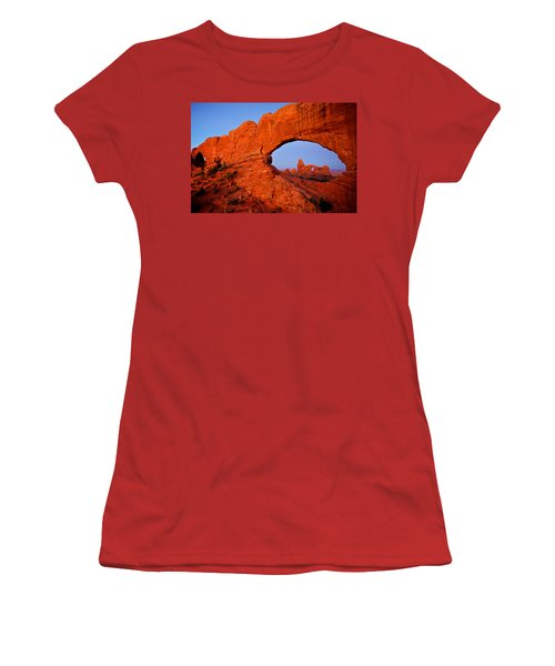 Women's T-Shirt (Junior Cut) featuring the photograph Arches by Evgeny Vasenev