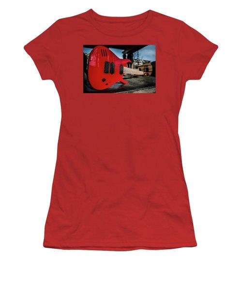 Guitar Women's T-Shirt (Athletic Fit)