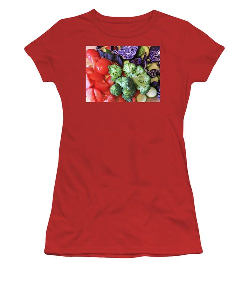 Raw Ingredients Women's T-Shirt (Junior Cut) by Tom Gowanlock