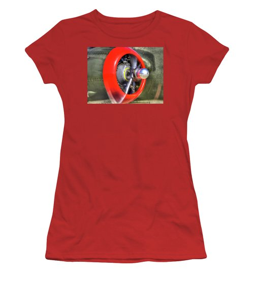 B-25 Women's T-Shirt (Athletic Fit)