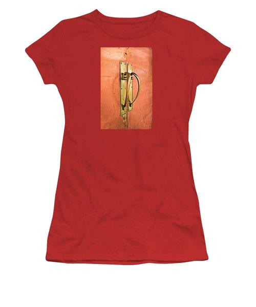 Door Handle Women's T-Shirt (Athletic Fit)