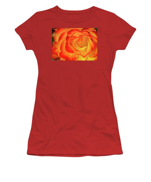 Rose Beauty Women's T-Shirt (Athletic Fit)