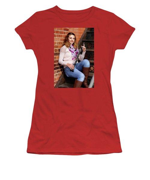 9g5a9481_e_pp Women's T-Shirt (Junior Cut) by Sylvia Thornton