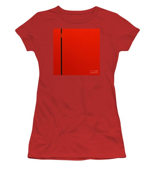 A Break In The Action Women's T-Shirt (Junior Cut) by CML Brown