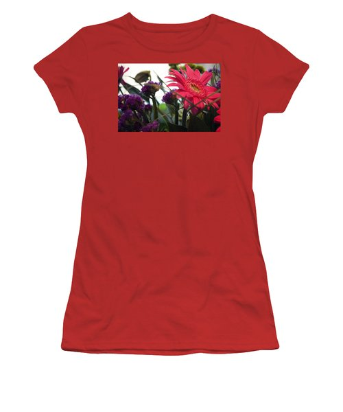 A Daisy And Friends Women's T-Shirt (Junior Cut) by Karen Nicholson