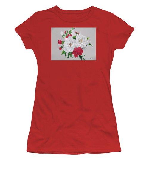 A New Rose Bouquet Women's T-Shirt (Athletic Fit)