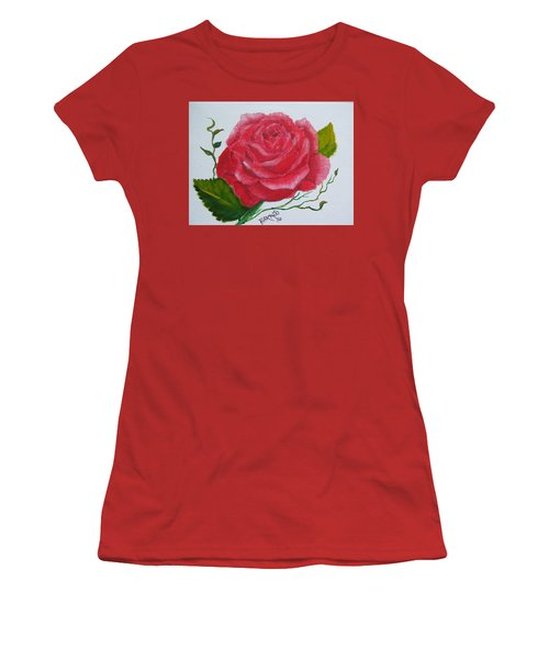 A Rose For You Women's T-Shirt (Athletic Fit)