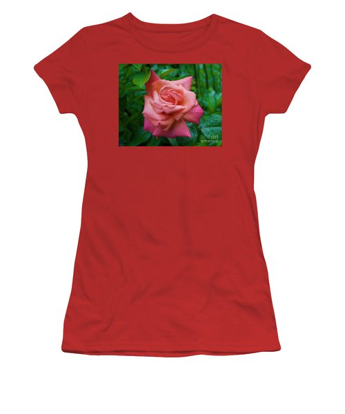 A Rose In Spring Women's T-Shirt (Athletic Fit)