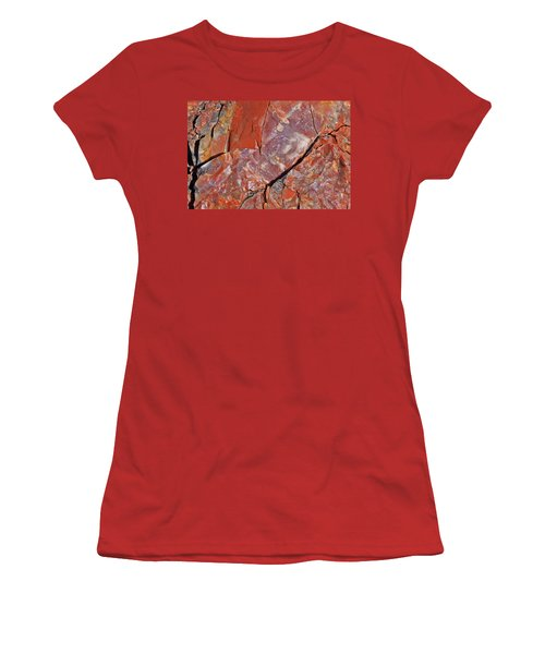 A Slice Of Time Women's T-Shirt (Junior Cut) by Gary Kaylor