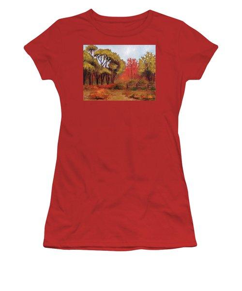 Abeel Fields Women's T-Shirt (Athletic Fit)