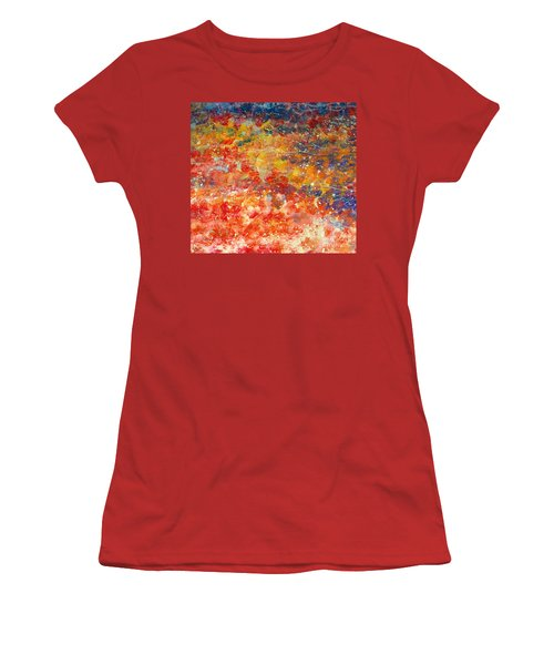 Abstract 2. Women's T-Shirt (Athletic Fit)