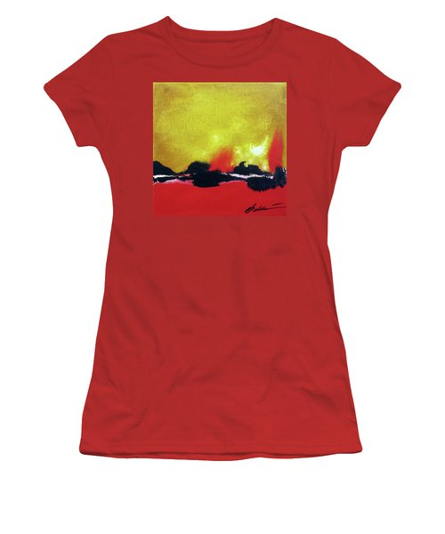Abstract 201207 Women's T-Shirt (Athletic Fit)