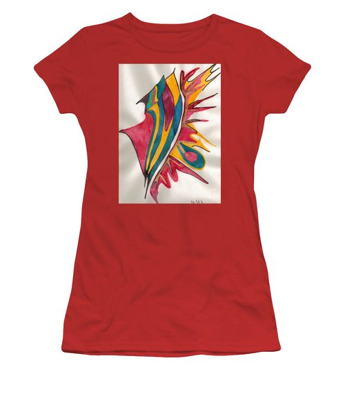 Abstract Art 102 Women's T-Shirt (Athletic Fit)