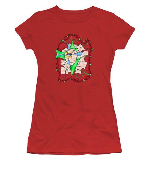 Abstract Digital Art - Deniteus V2 Women's T-Shirt (Athletic Fit)
