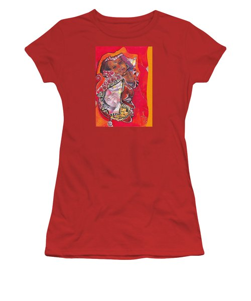 African Crown Women's T-Shirt (Athletic Fit)