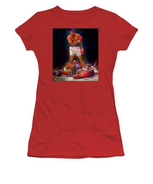Ali Women's T-Shirt (Junior Cut) by Ted Azriel