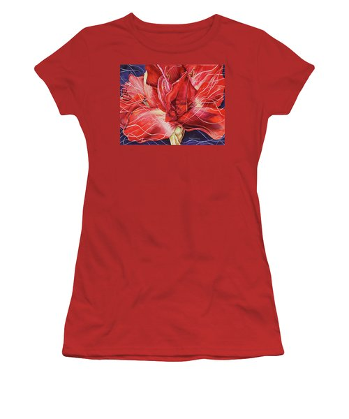 Amaryllis 1 Women's T-Shirt (Athletic Fit)