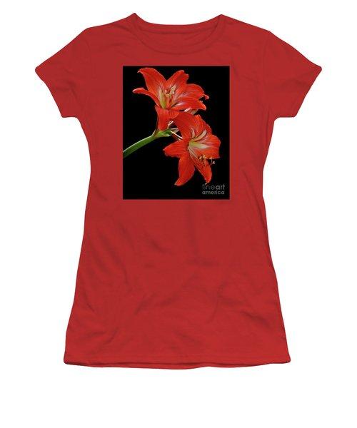 Amaryllis Women's T-Shirt (Athletic Fit)
