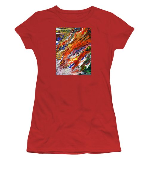 Amplify Women's T-Shirt (Junior Cut) by Ralph White