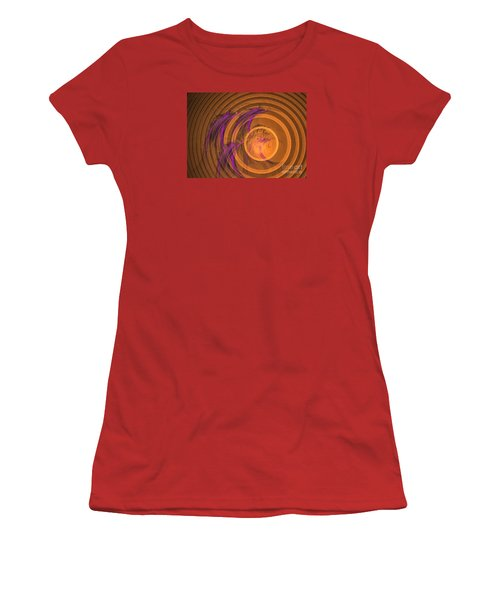 An Echo From The Past - Abstract Art Women's T-Shirt (Athletic Fit)