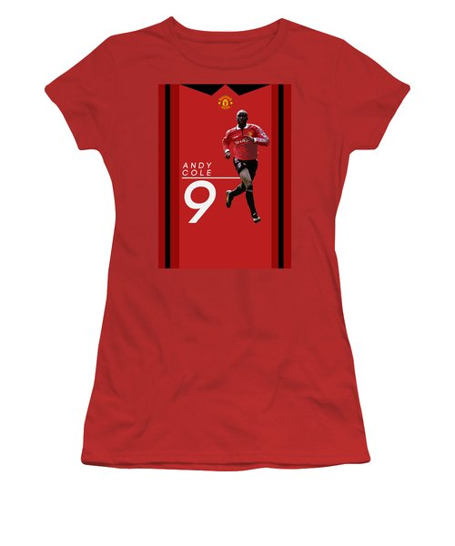 Andy Cole Women's T-Shirt (Athletic Fit)
