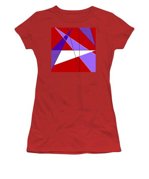 Angles And Triangles Women's T-Shirt (Junior Cut) by Tara Hutton
