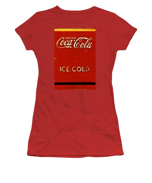 Antique Soda Cooler 6 Women's T-Shirt (Athletic Fit)