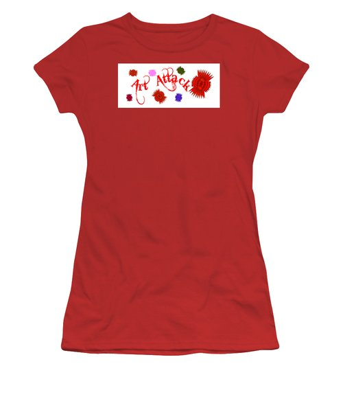 Art Attack  Women's T-Shirt (Athletic Fit)