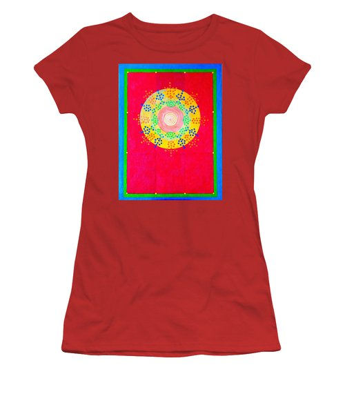 Asia Sun Women's T-Shirt (Athletic Fit)