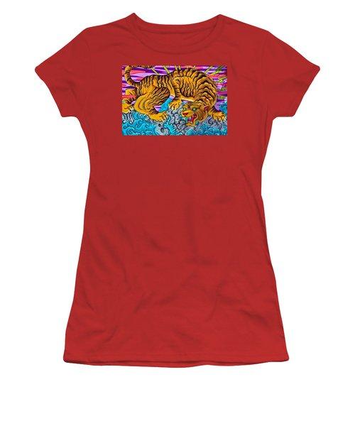 Asphalt Jungle Women's T-Shirt (Athletic Fit)